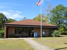 Post Office at Clayton, Alabama