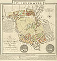 Clerkenwell 1805 Cartographer; Tyrer, James.jpg