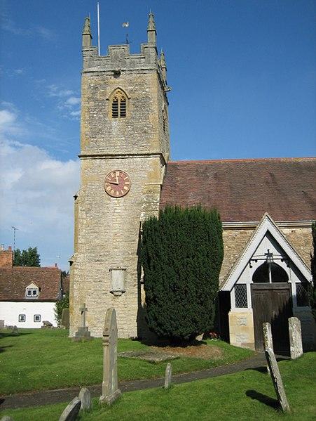 St Helens parish church, Clifford Chambers