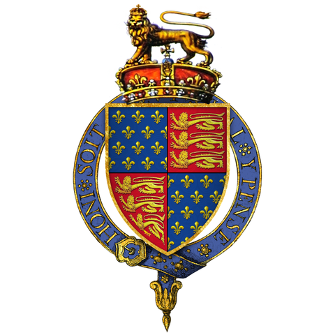 File Coat Of Arms Of Edward Iii King Of England Png Wikimedia Commons