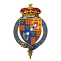 Coat of Arms of Hugh FitzRoy, 11th Duke of Grafton, KG, DL.png