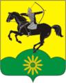 Coat of Arms of Tikhoretsk rayon (Krasnodar krai).png