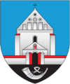 Coat of arms of Čarnaŭčycy.png
