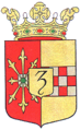 Coat of arms of Zevenaar.png