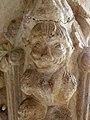 Codalet (66) Abbaye Saint-Michel de Cuxa Cloître Chapiteau Détail 02.JPG