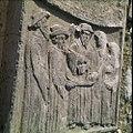 Collectie Nationaal Museum van Wereldculturen TM-20029798 Reliefs op graven op de oude Joodse begraafplaats Beth Haim Curacao Boy Lawson (Fotograaf).jpg