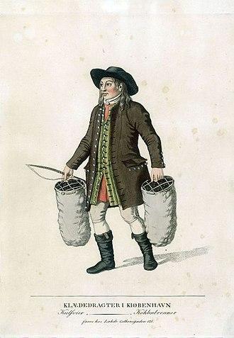 Gerhard Ludvig Lahde - Image: Collier at Kultorvet (c 1805)
