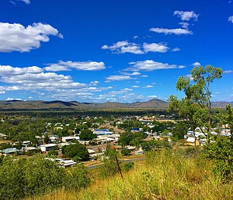 Collinsville, Queensland - Collinsville in May 2018.