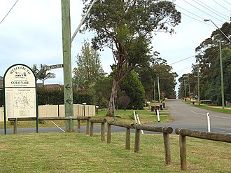 Colo Vale, New South Wales - Image: Colo Vale Town Sign