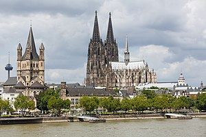 Cologne Germany Exterior-view-of-Cologne-Cathedral-08.jpg
