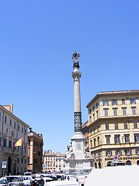 Column of the Immaculate Conception, Rome
