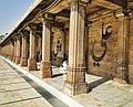 Colonnade along courtyard, Jama Masjid, Ahmedabad - 4.jpg