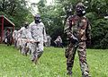 Command Sergeant Major Leads the Way During Gas Chamber Exercise DVIDS292726.jpg