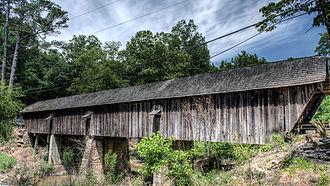 Historic bridges of the Atlanta area - Concord Covered Bridge, Smyrna, Georgia, USA