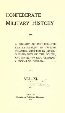 Confederate Military History - 1899 - Volume 11.djvu