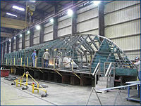 Constructing the hull of a Yemeni patrol vessel based on a Damen Stan design.jpg
