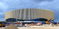 Construction of the Royal Arena in Ørestad Syd - panoramio.jpg