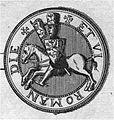 Contre sceau de philippe de Flandre 1162.jpg