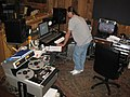 Control room of Cash Cabin Studio.jpg