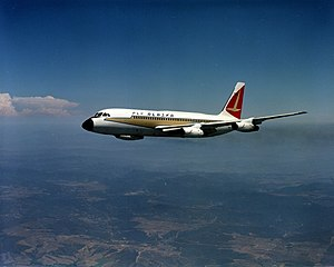 Alaska Airlines - The Convair 880 was Alaska Airlines' first jet aircraft.
