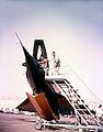 Convair XF2Y-1 Sea Dart on trailer.jpg