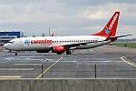 Corendon Airlines, TC-TJU, Boeing 737-8HX (37433218261).jpg