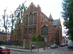 Corpus Christi Church, Brixton - Image: Corpus Christi Catholic Church, Brixton Hill geograph.org.uk 472908