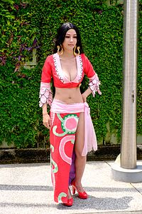 Cosplayer of Hancock, One Piece in PF22 20150509a.jpg