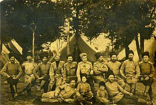 Кубанские казаки в мае 1916 года