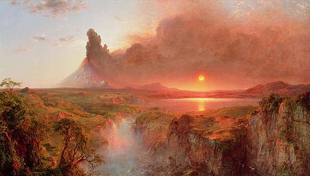 Cotopaxi by Frederic Edwin Church, 1862