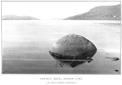 Council Rock, Otsego Lake