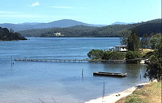 Clyde River (New South Wales) - Image: Country Town 0020