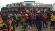 File:Coup d'État en Guinée - scène de joie à Conakry pour célébrer la fin de règne Alpha Condé.webm