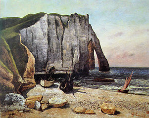 The Cliff at Étretat