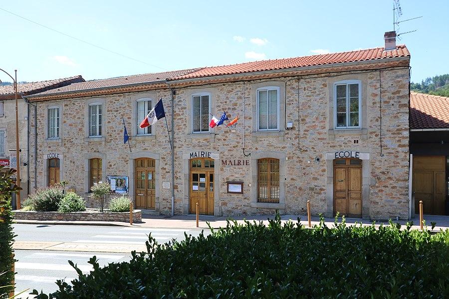 Courniou (Hérault) - mairie et écoles