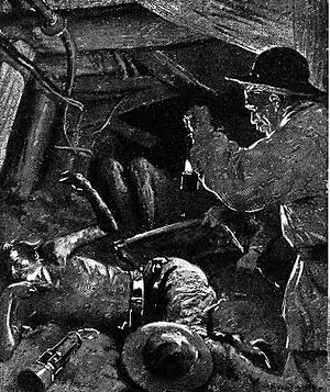 Courrières mine disaster - Niva illustration