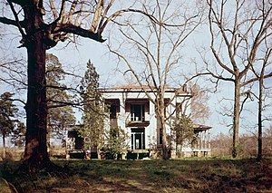 National Register of Historic Places listings in Lowndes County, Mississippi - Image: Cox House, Old Aberdeen Road, Columbus vicinity, (Lowndes County, Mississippi)