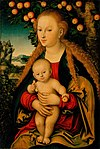 Cranach, Lucas, I - The Virgin and Child Under an Apple Tree.jpg