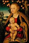 Cranach, Lucas, I - The Virgin and Child Under an Apple Tree.jpg