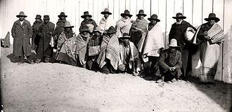 Crazy Snake Rebellion - Crazy Snake rebels in 1909.