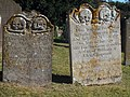 Creepy Headstones at St Peter and St Paul's Church - geograph.org.uk - 1502156.jpg