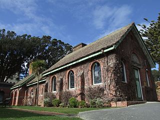 Karori Crematorium heritage building in Karori Cemetery, Wellington, New Zealand