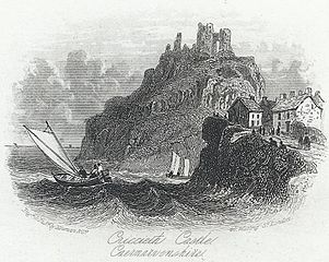Criccieth Castle, Caernarvonshire