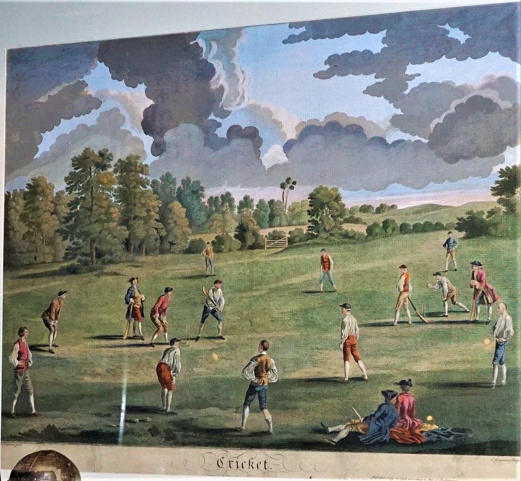 Cricket in Marylebone Fields