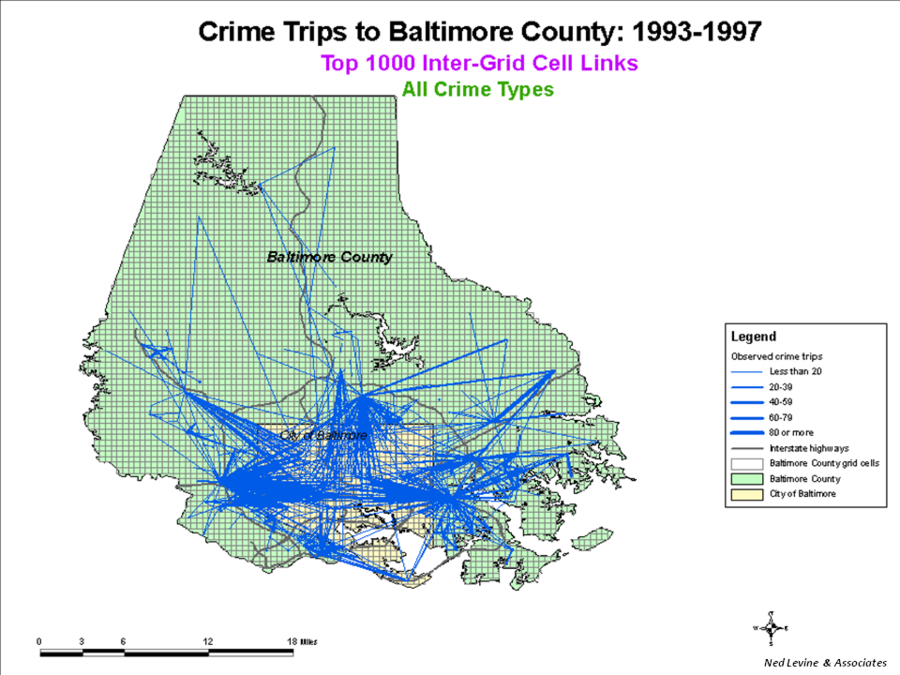 a crime hotspot analysis using crimestat