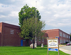 Crispell Middle School in Pine Bush, NY, USA
