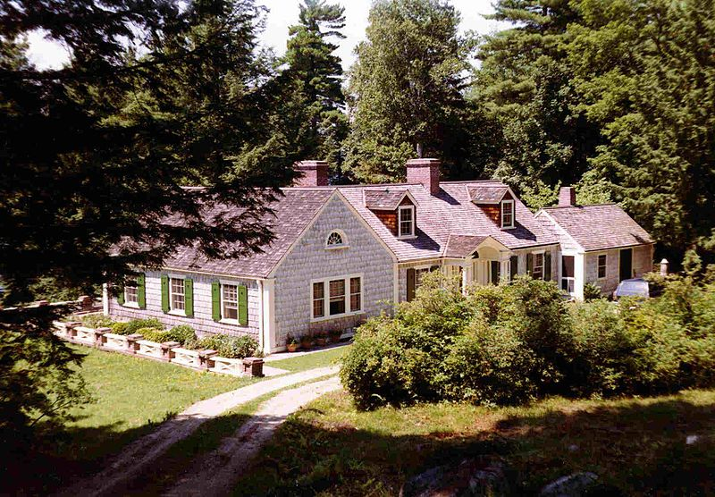 File:Cute cottage house in forest.jpg