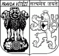 Czech-Indian Society-coat of arms-BW.png