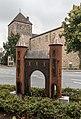 Dülmen, Skulptur -Lüdinghauser Tor- -- 2014 -- 3183.jpg