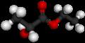 D-(+)-ethyl lactate 3D ball.png